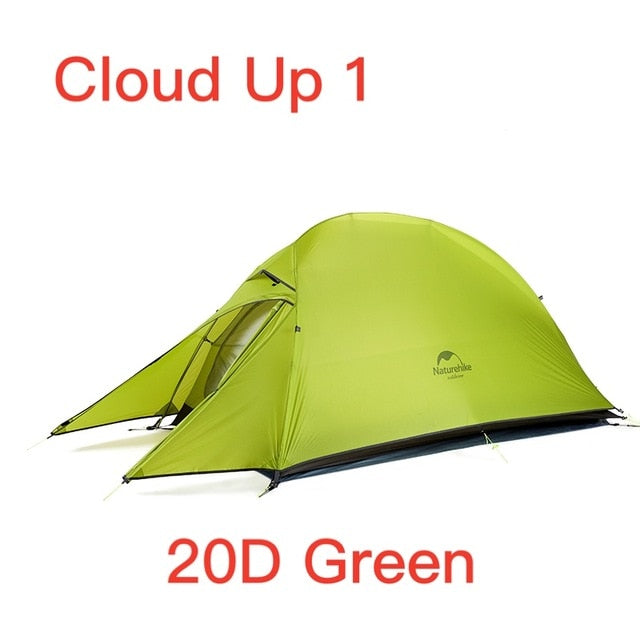 Ultralight Camping Tent  With Free Mat - GearMeeUp