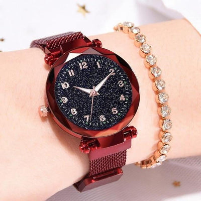 Classic Luxury Luminous Starry Sky Magnetic Watch - GearMeeUp