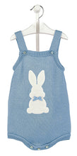 Load image into Gallery viewer, Bunny Romper Blue