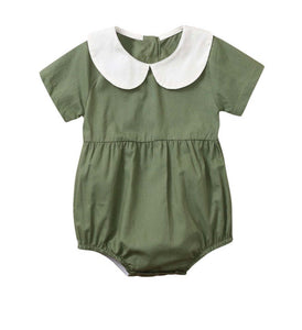 Boys/Girls Collared Rompers (3 colours/can be personalised)
