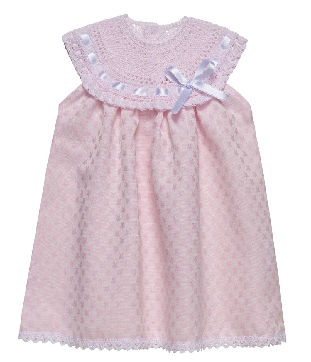 Gavida Pink Spanish 'Stella' Baby Dress