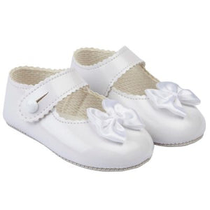 Baby Girls Soft Soled Shoe (5 colours available)