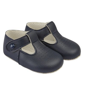 Baby Boy Soft Soled T Bar Shoes (4 colours available)