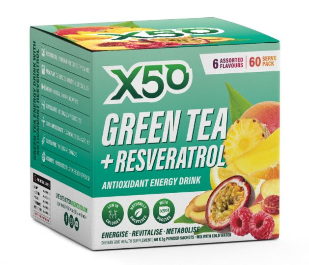GreenTea X50 60serve