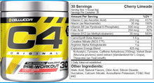 Load image into Gallery viewer, Cellucor C4 ID 60serve