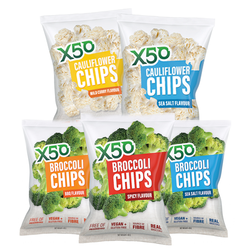 X50 Vege Chips Mixed Pack