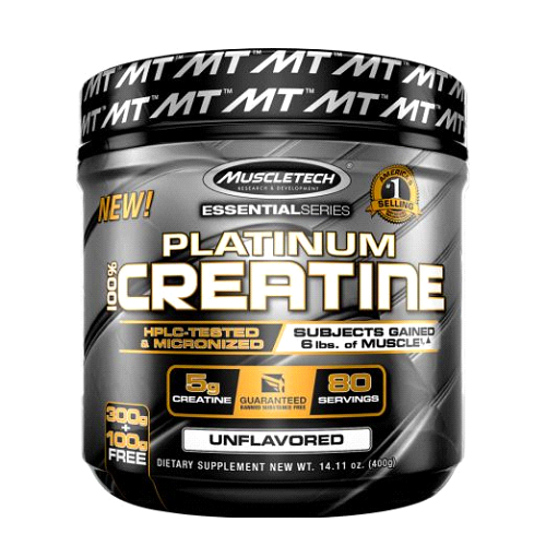 MUSCLETECH Platinum 100% Creatine 80 Serve