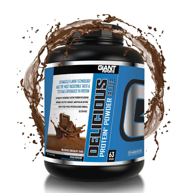 Giant Sports Delicious Protein 5Lb