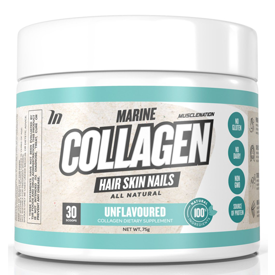 MUSCLE NATION Marine Collagen Unflavoured 30scoops
