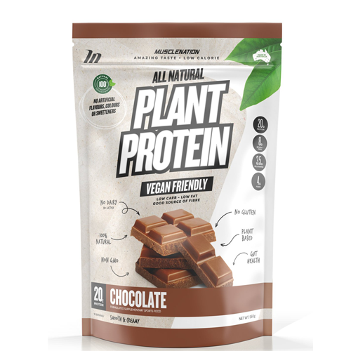 MUSCLE NATION PLANT PROTEIN 100% Natural