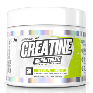 MUSCLE NATION CREATINE Monohydrate Unflavoured 30scoop