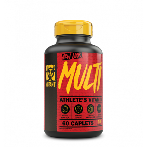 Mutant Multi Vitamins 60caps