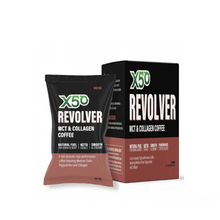 Load image into Gallery viewer, X50 Revolver MCT + Collagen Coffee 10pack