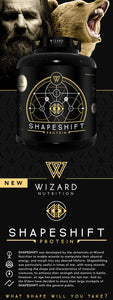 Wizard Nutrition Shapeshift Protein 4lb