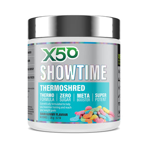 X50 Showtime Thermoshred 60serve