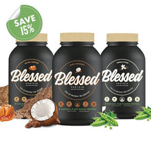 Load image into Gallery viewer, Blessed Vegan Protein 3-Pack 6lb