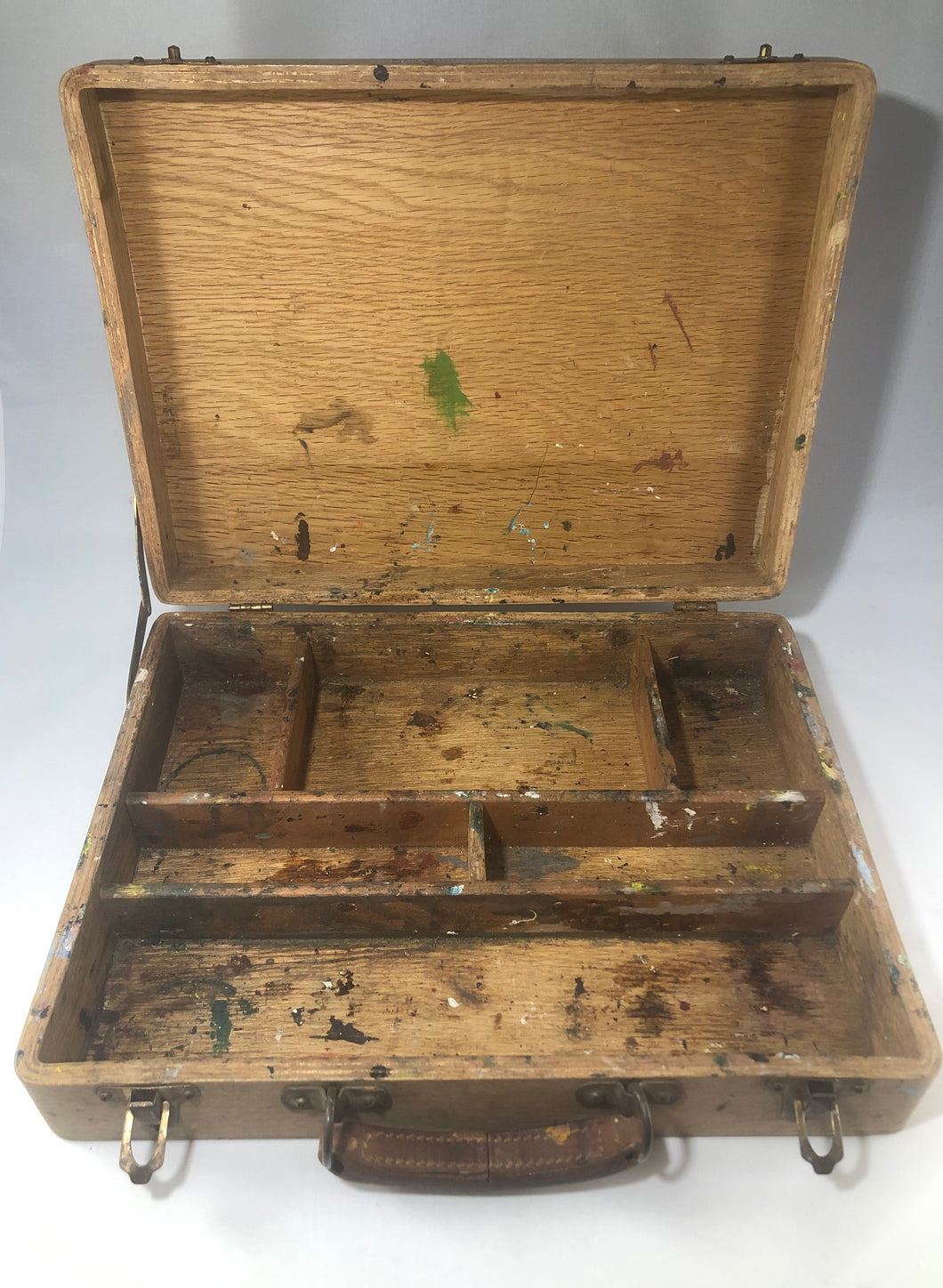 Vintage Plein Air Art Case