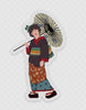 4th Doctor Geisha, Vinyl Sticker