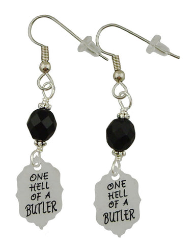 Black Butler Inspired Earrings