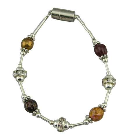 Brown Simply Elegant Magnetic Bracelet