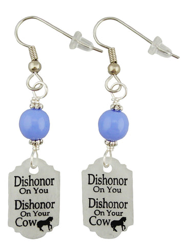 Mulan Inspired, Dishonor Earrings