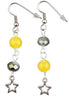 Gray & Yellow 2021 Star Earrings
