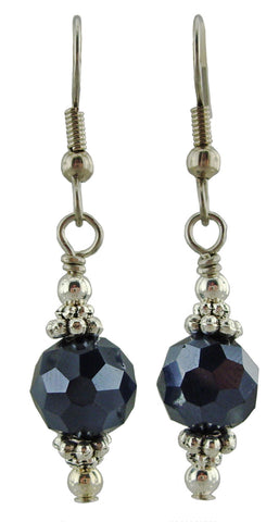 Hematite Sparkle Earrings