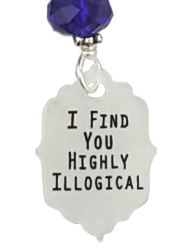 I Find You Highly Illogical, Earrings
