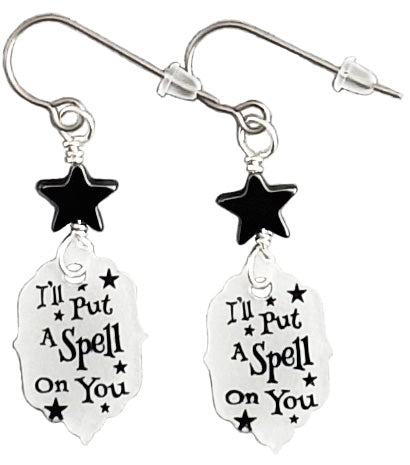 I'll Put A Spell On You earrings