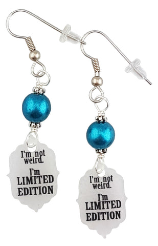 I'm not weird I'm Limited Edition, Earrings