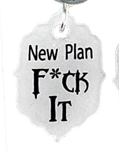 New Plan F it, Earrings