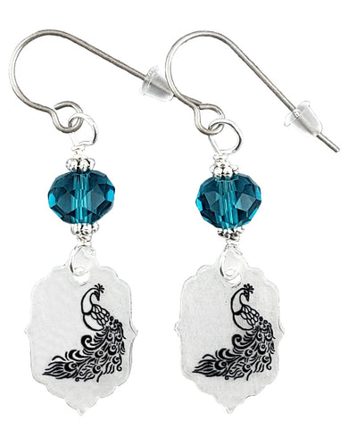 Peacock, Earrings