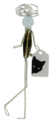 Peek-A-Boo Kitty Pepole Pin