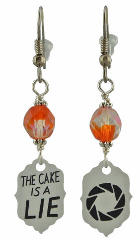 Portal Inspired Earrings