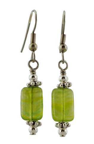 Spring Green Earrings