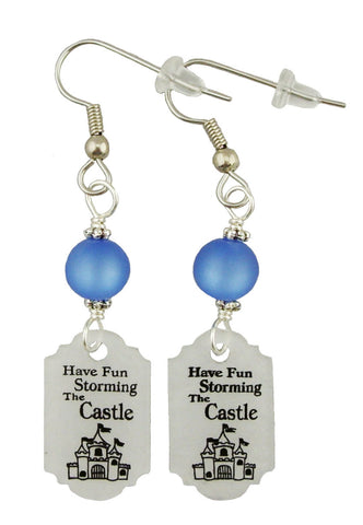 Have Fun Storming The Castle, Earrings
