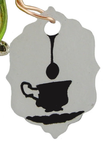 Tea Time Pepole Pin