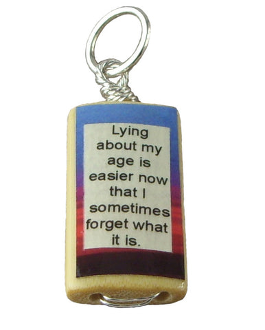 Forgetful Age Pendant