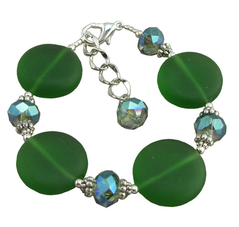 So Green Adjustable Bracelet