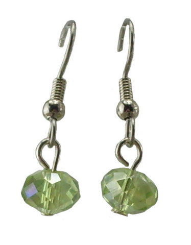 Light Green Earrings, Small
