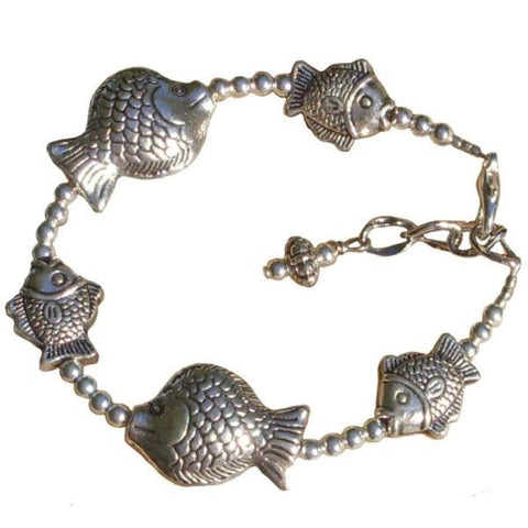 Metal Fish Adjustable Bracelet