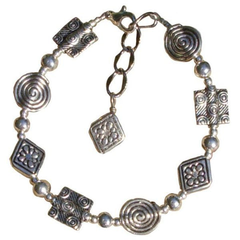 Metal Geometric Shape Bracelet