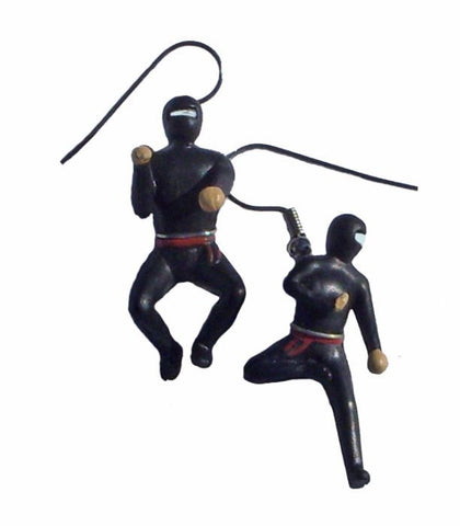 Ninja Earrings