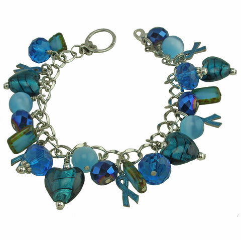 Ovarian Cancer Funky Bracelet
