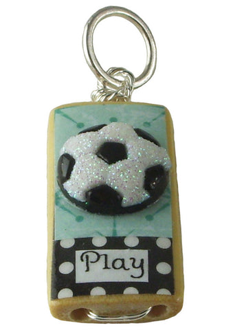 Lets Play Soccer Pendant