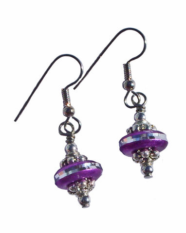 Purple Dazzle Earrings