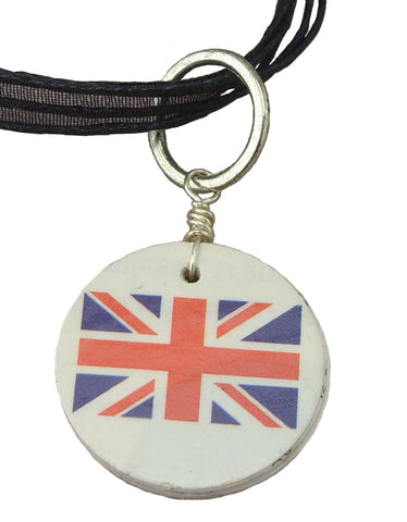 Great Britain Recycled Mail Pendant