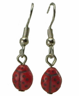 Ladybug Earrings, small