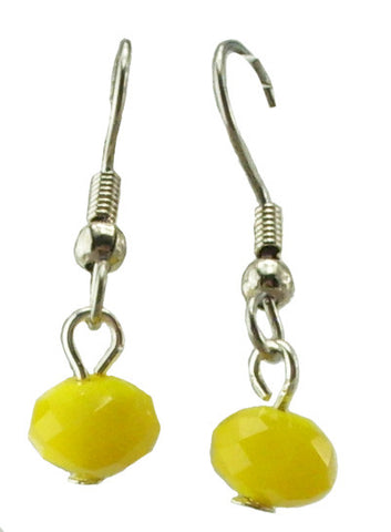 Yellow Earrings, Small
