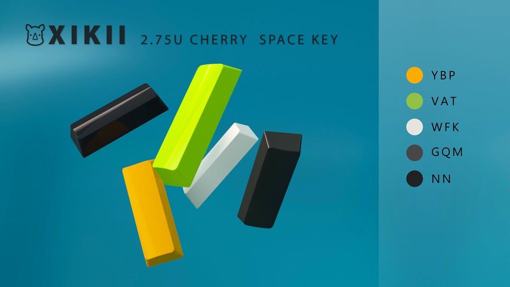 XIKII 2.75U CHERRY SPACE KEY FOR 1800MINI